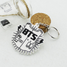 BTS Logo Keychain
