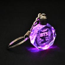Bangtan7 Color Changing Led Keychain