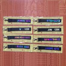 Bangtan7 Keychain Strap (8 Models)