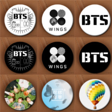 Bangtan7 Brooch (10 Models)
