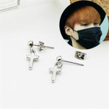 BTS Cross Earrings