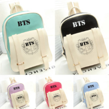 BTS PU Leather Backpack (5 Models)