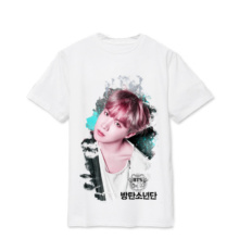 Bangtan7 White Print T-Shirt (7 Models)