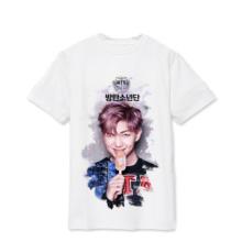 BTS White Print T-Shirt (7 Models)