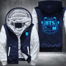 BTS Blue Glow Hoodie Jacket (4 Models)