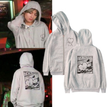 BTS TATA MANG Zipper Hoodie (5 Colors)