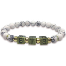 BTS Natural Stone Bracelet (12 Colors)