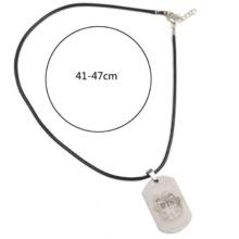 BTS Titanium Steel Dog Tag Necklace