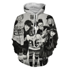 Bangtan7 Full Print Hoodies (12 Models)