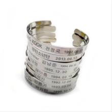 Stainless Steel BTS Bracelet (8 Models)
