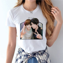 BTS Themed White T-Shirts (29 Models)