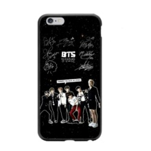 Bangtan7 Black iPhone Cases (7 Models)