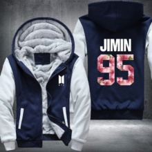 Bangtan7 Jimin 95 Hoodie Jacket (5 Models)