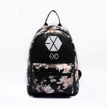 2017 Korean Summer New Fashion Butterfly Flower Backpacks For Teenager EXO Bigbang GD MADE TOP BTS Backpacks For Girl School Bag