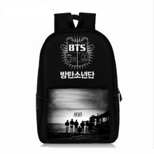 Bangtan Boys Backpack Korea BTS Boys Photo Print Students School Bookbag For Teenager Girls Bag High Capacity Travel Laptop Bag!