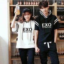 EXO Hooded Sweatshirts For Both (8 Models)