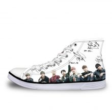 BTS Print Signature Shoes