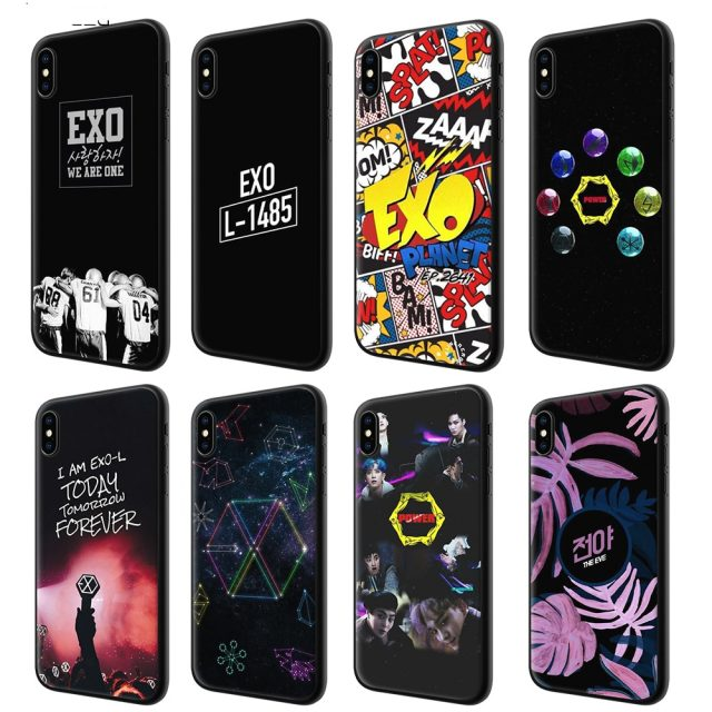 Exo Iphone Cases 8 Models