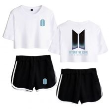 BTS Love Yourself Crop Top & Pants Set (8 Models)