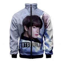 BTS WORLD Zipped 3D Sweatshirts (7 Models)