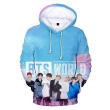 BTS World 3D Print Hoodies (5 Models)