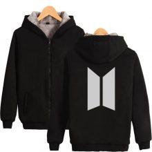 Bangtan7 Warm Velvet Hoodie Jacket (5 Colors)