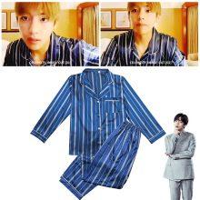Bangtan7 V Same Long Sleeve Pajamas