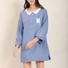 Bangtan7 Plain Dress (3 Colors)