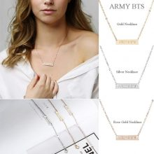 Bangtan7 ARMY Necklace or Bracelet (3 Colors)