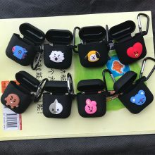 BTS Black Airpods Cases