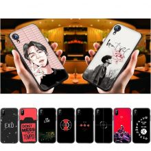 WEBBEDEPP Exo Bands K Pop Soft Silicone Case for iPhone 11 Pro Xr Xs Max X or 10 8 7 6 6S Plus 5 5S SE Case 8 Plus