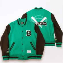 Bangtan7 ZIP Jungkook Varsity Jacket