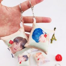 BTS Bias Mini Pillow Keychain