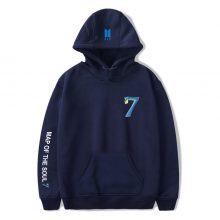 Bangtan7 Map Of The Soul 7 Plain Hoodie (6 Colors)